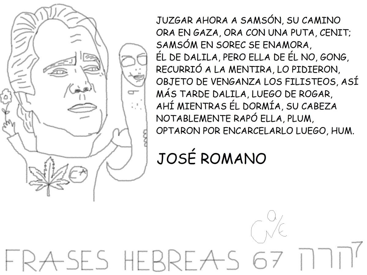 FRASES HEBREAS 67, JOSÉROMANO,