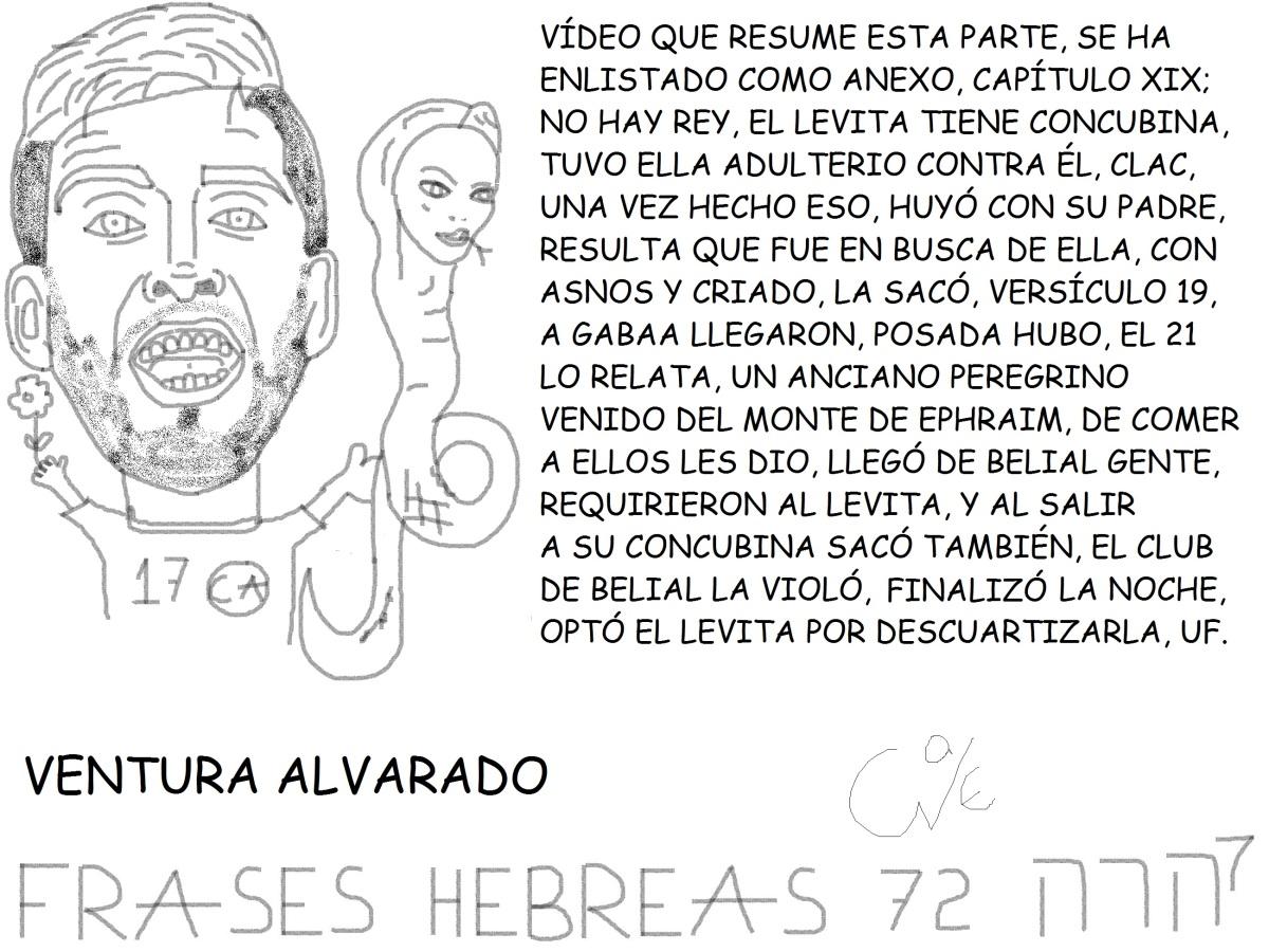 FRASES HEBREAS 72, VENTURA ALVARADO,@VENTUZZZ,