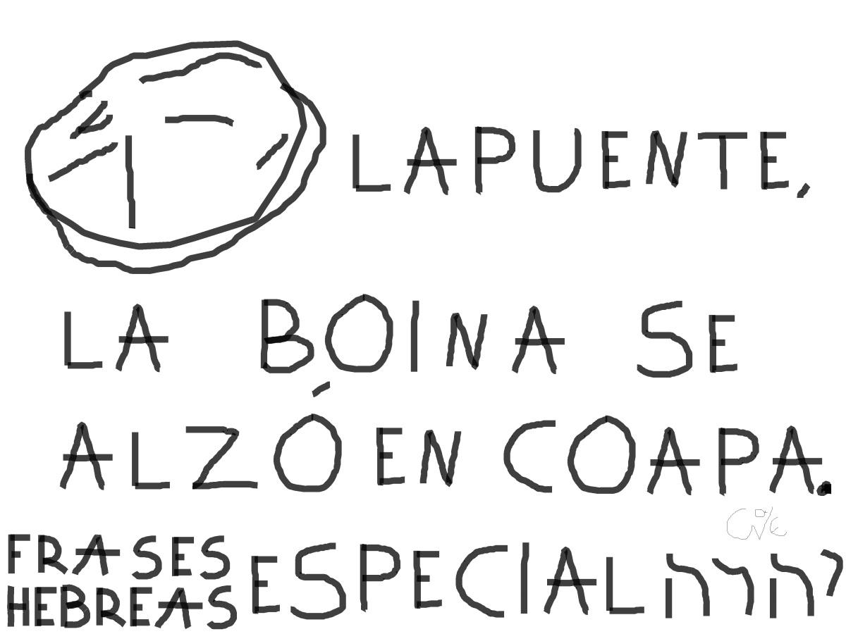 LAPUENTE, LA BOINA SE ALZÓ ENCOAPA