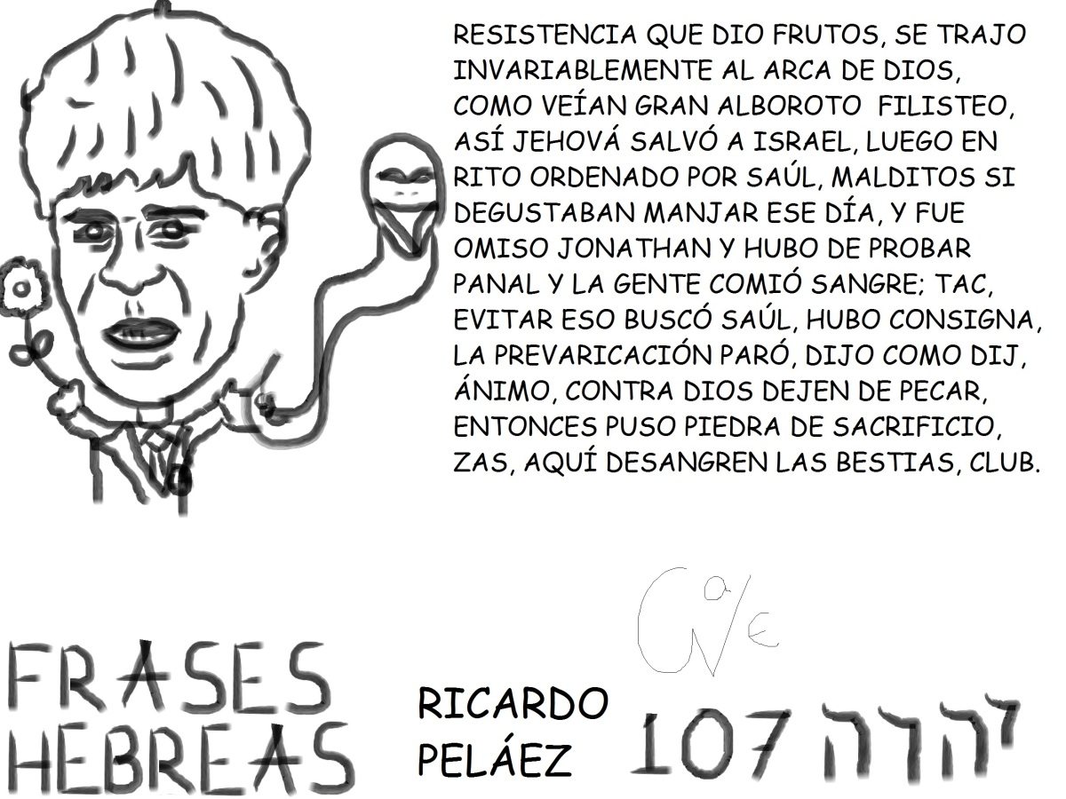 FRASES HEBREAS 107,RICARDOPELÁEZ,