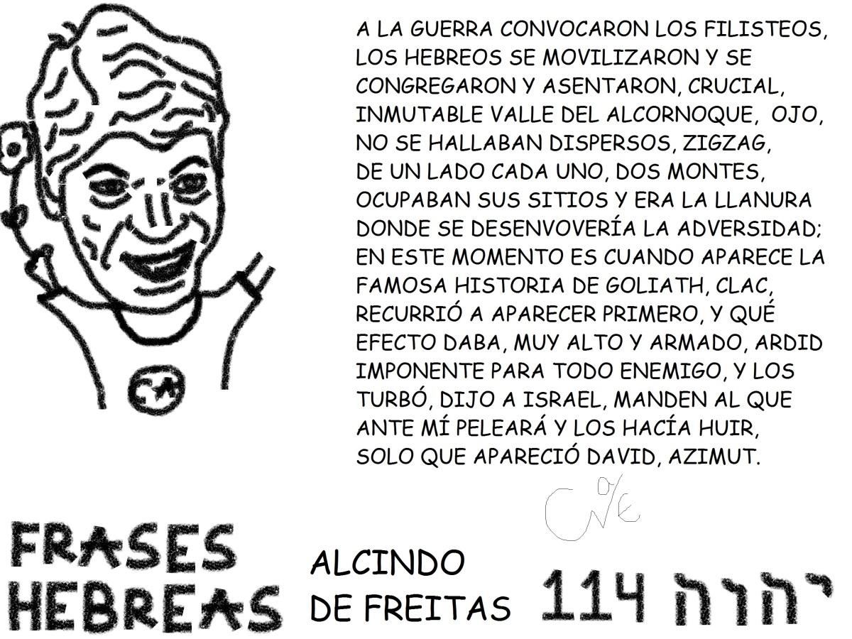 FRASES HEBREAS 114, ALCINDO DEFREITAS,
