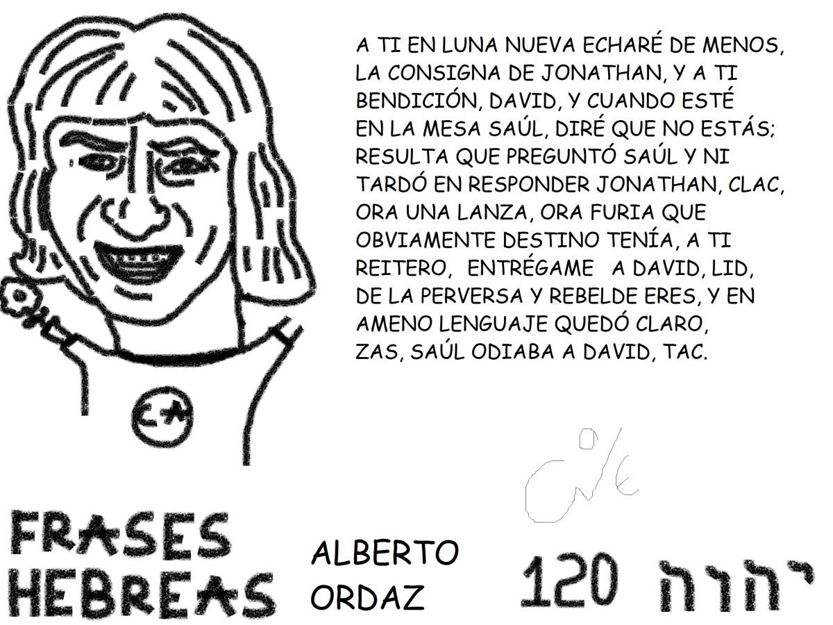 FRASES HEBREAS 120, ALBERTOORDAZ,