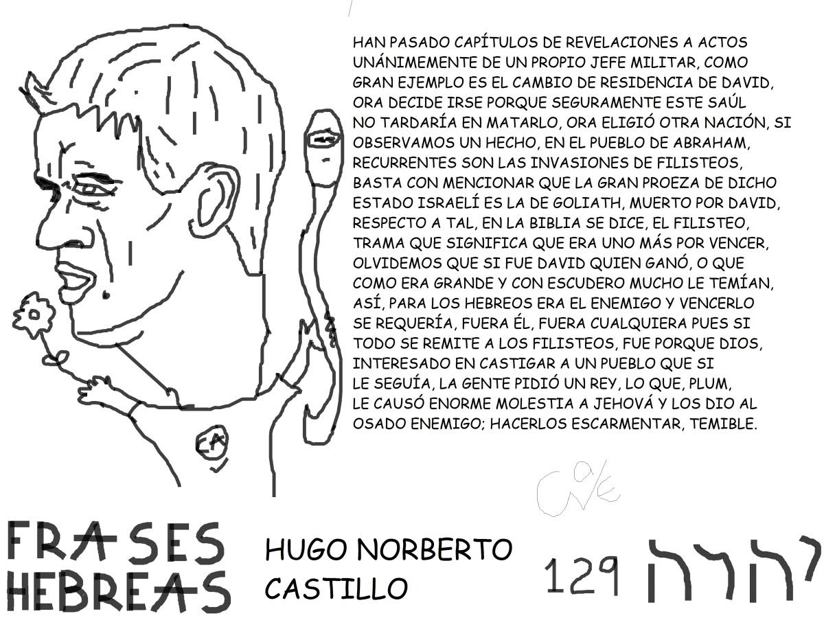FRASES HEBREAS 129, HUGO NORBERTOCASTILLO,