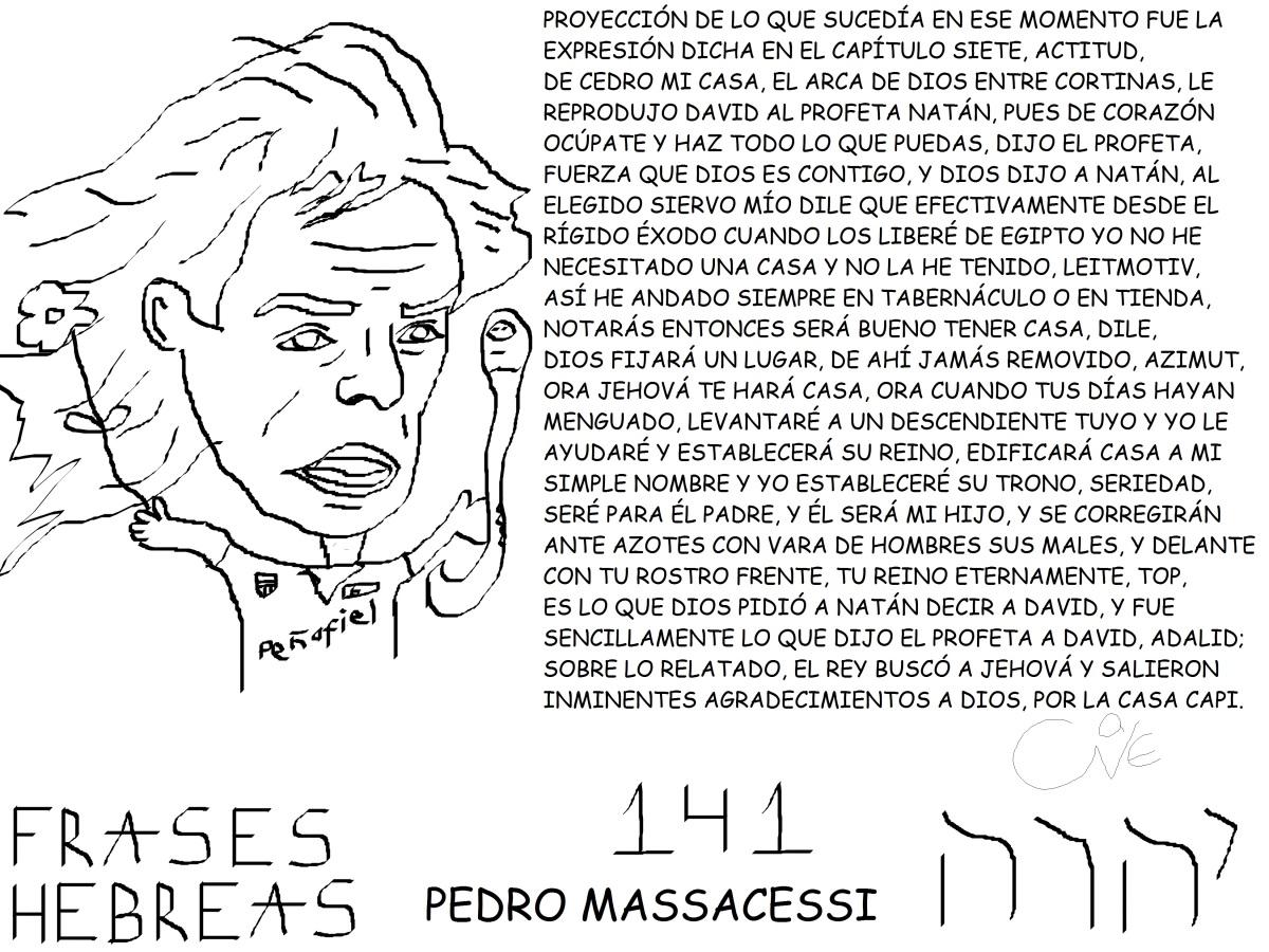 FRASES HEBREAS 141, PEDROMASSACESSI,