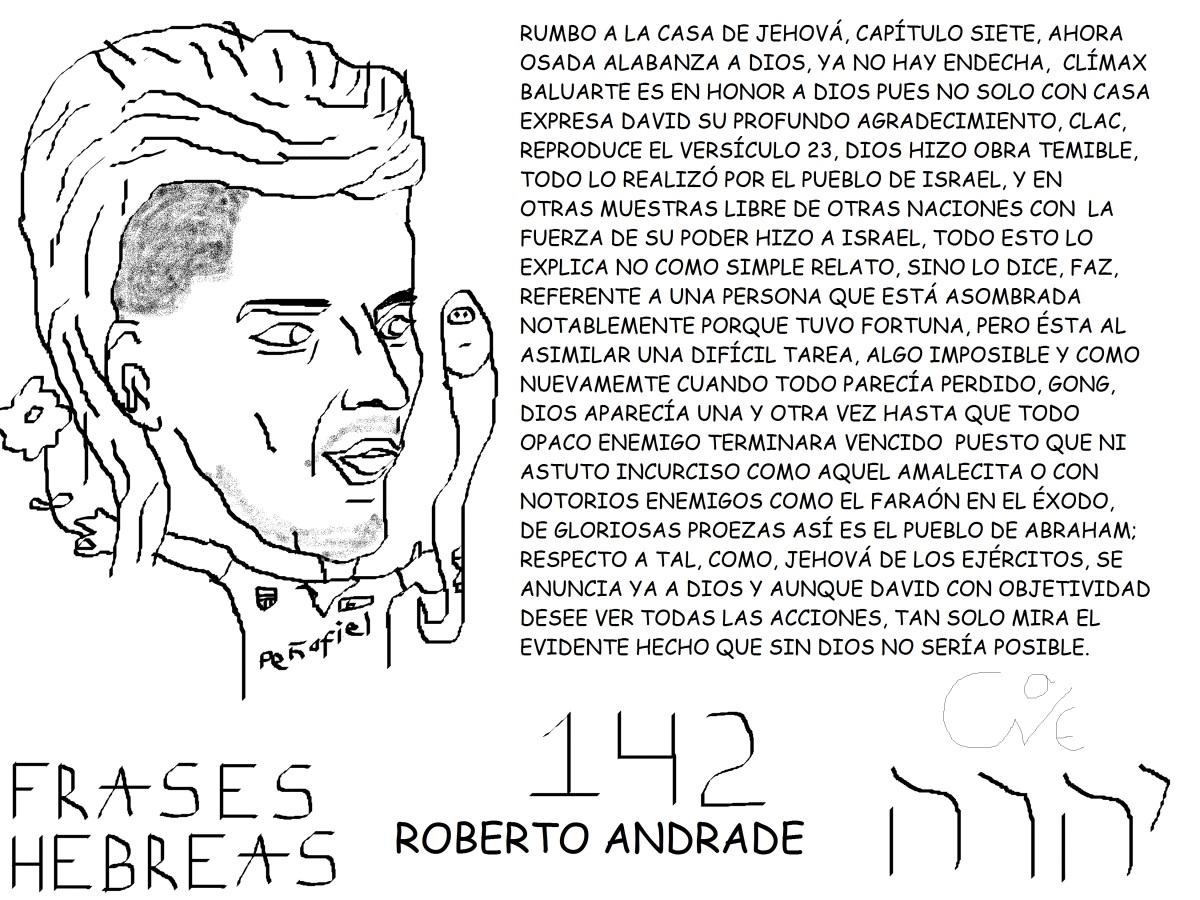 FRASES HEBREAS 142, ROBERTO ANDRADE, DEMONIOANDRADE9,