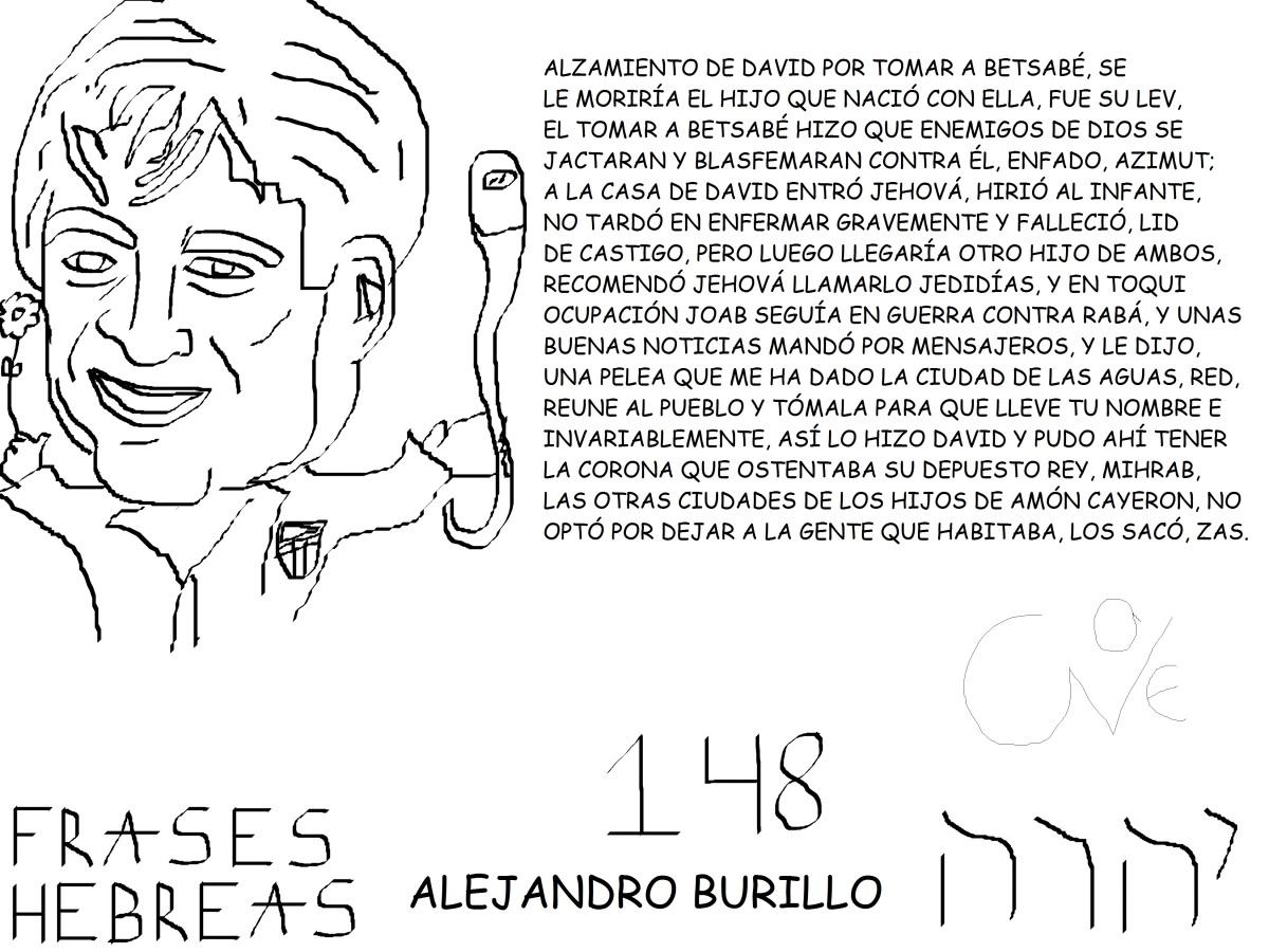 FRASES HEBREAS 148, ALEJANDROBURILLO,