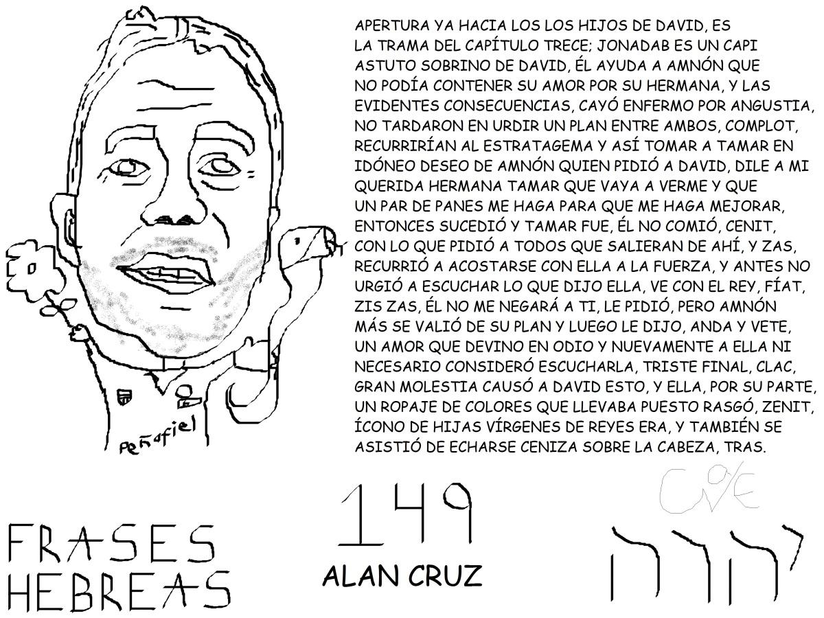 FRASES HEBREAS 149, ALANCRUZ,