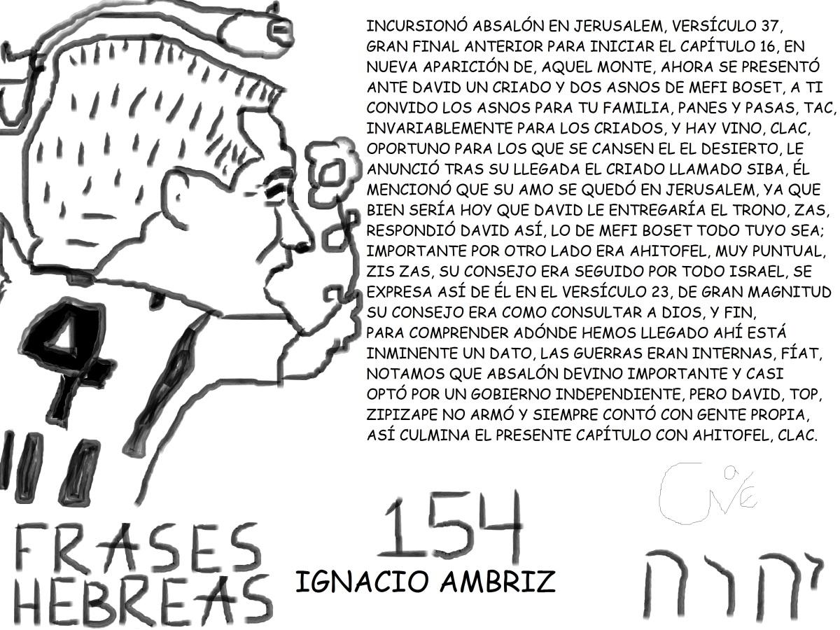 FRASES HEBREAS 154, IGNACIOAMBRIZ,