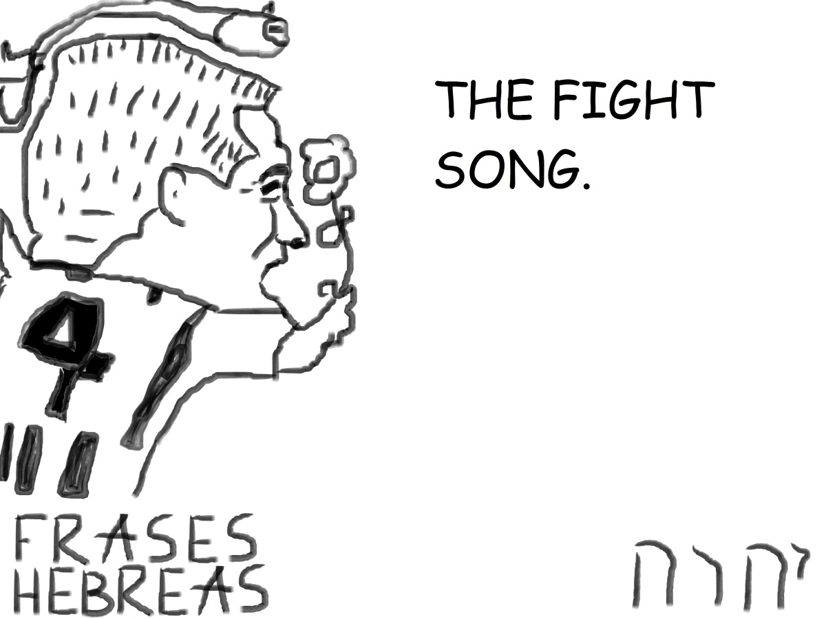 THE FIGHT SONG