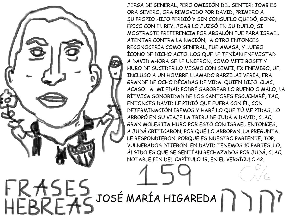 FRASES HEBREAS 159, JOSÉ MARÍAHIGAREDA,