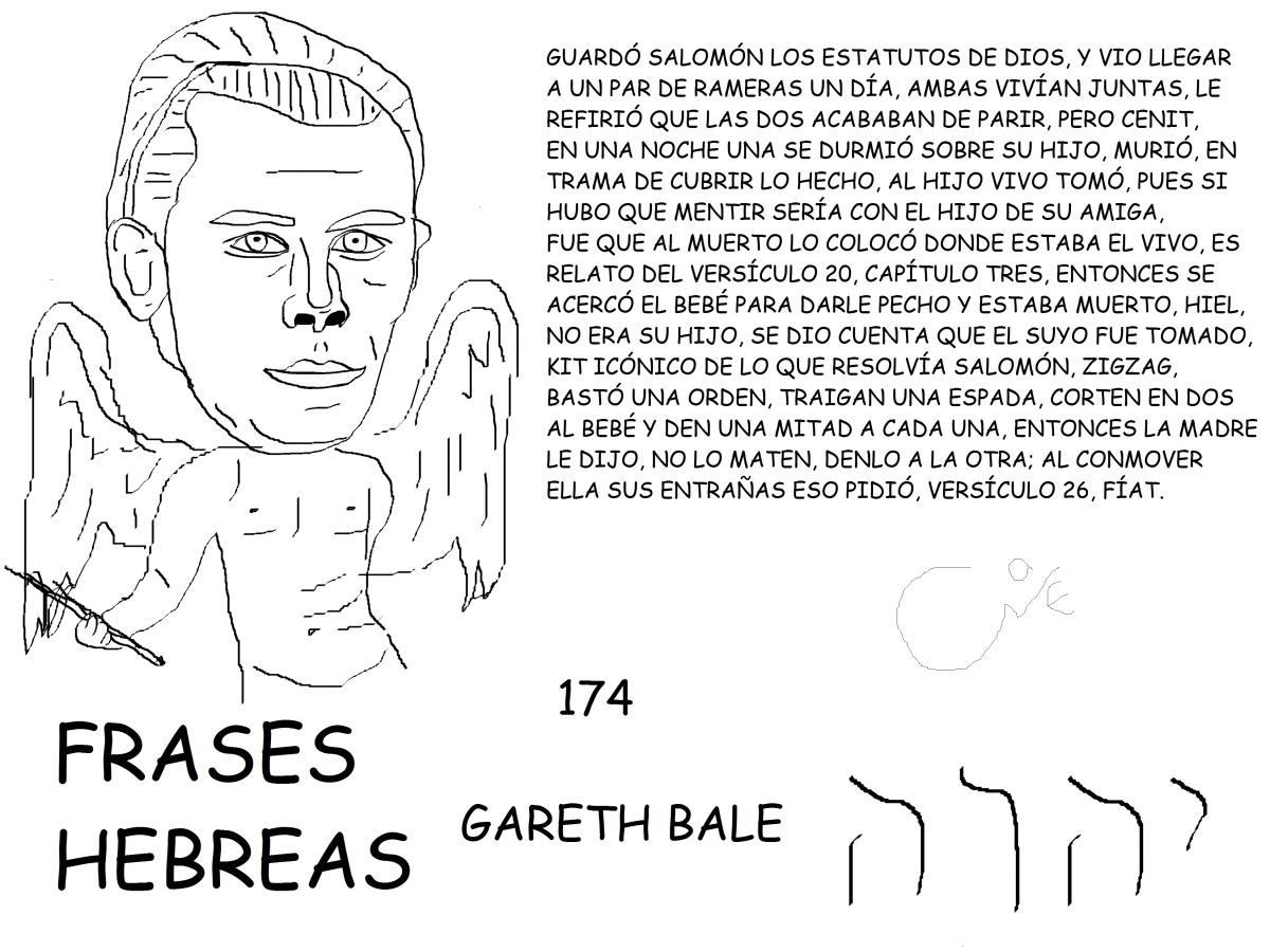 FRASES HEBREAS 174, GARETH BALE,@GARETHBALE11,
