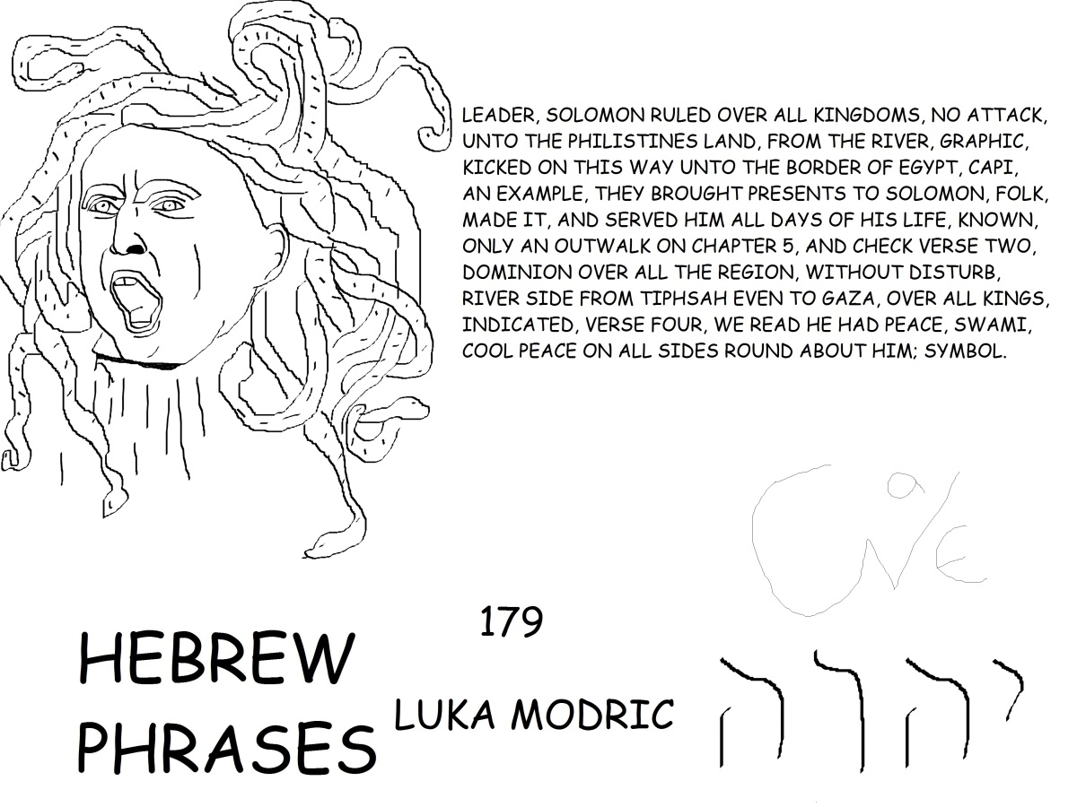 HEBREW PHRASES 179, LUKA MODRIC,@LM19OFFICIAL,