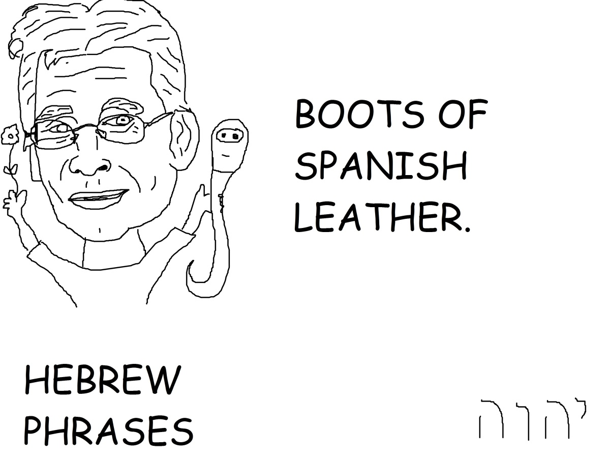 BOOTS OF SPANISHLEATHER